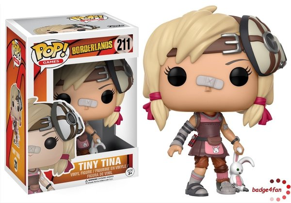 Funko Pop! Borderlands Tiny Tina 211