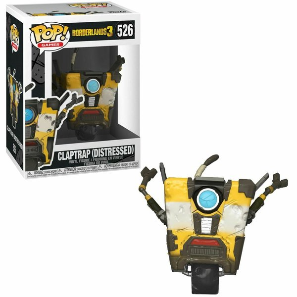 Funko Pop! Borderlands Claptrap No 526