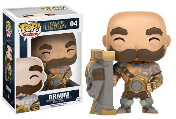 Funko Pop! League of Legends Champion Braum No. 04 LoL Riot Games