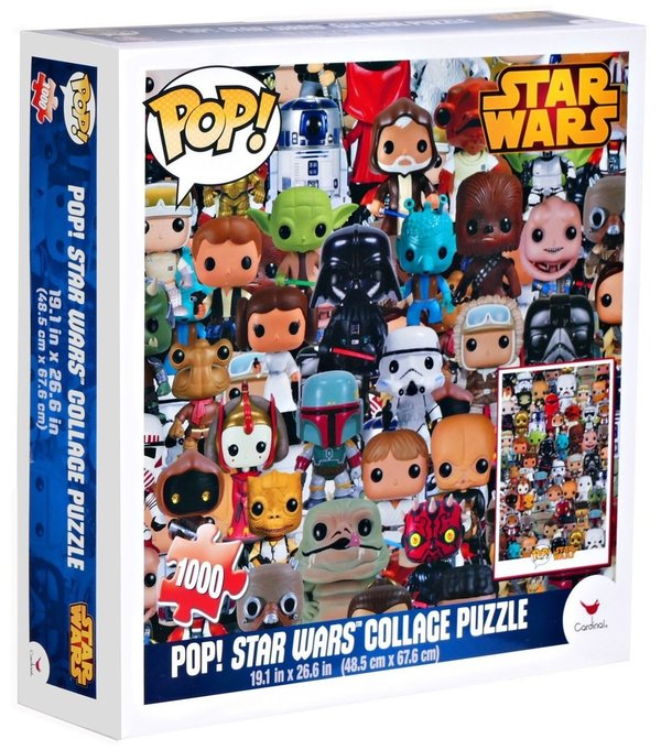 Star Wars Pop! Collage Puzzle - 1000 Teile