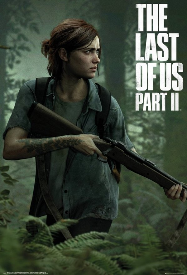 Poster Maxi The Last Of Us Part II