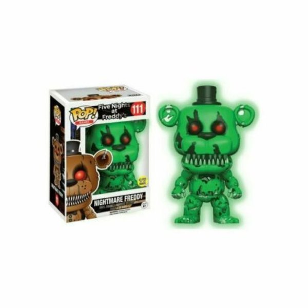 Funko Pop! Nightmare Freddy  VINYL FIGURE ~ Five Nights at Freddy's FNAF No.111