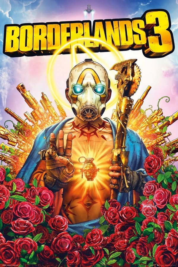Poster Maxi BORDERLANDS 3 Cover