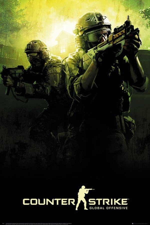 Poster Maxi Counter Strike Poster Global Offensive