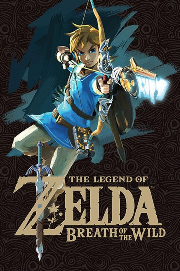 Poster Maxi Zelda Breath of The Wild Game