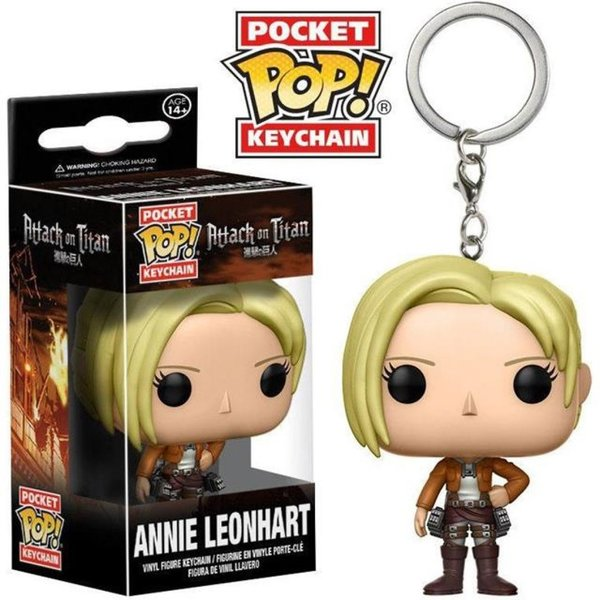 Schlüsselanhänger Funko Pop! Pocket Key Chain Attack on Titan Annie Leonhart AOT / Shingeki