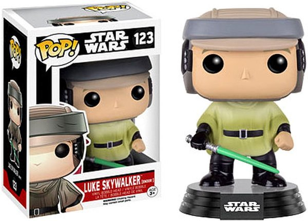 Funko Pop! Star Wars Luke Skywalker  No. 123