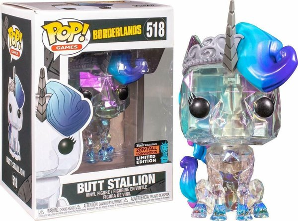Funko Pop! Borderlands Butt Stallion No. 518 Limited Edition