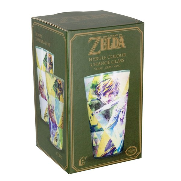 Glas  The Legend of Zelda: Hyrule Thermo-Farbwechsel Glas