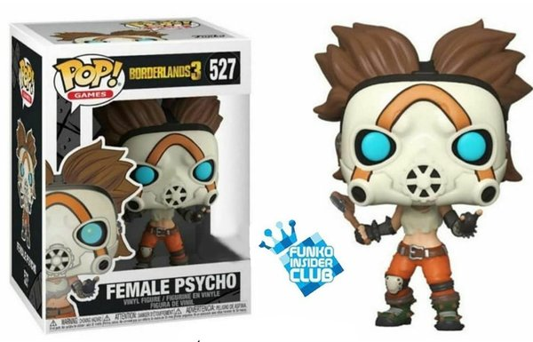 Funko Pop! Borderlands 3 - Female Psycho Exclusive No. 527