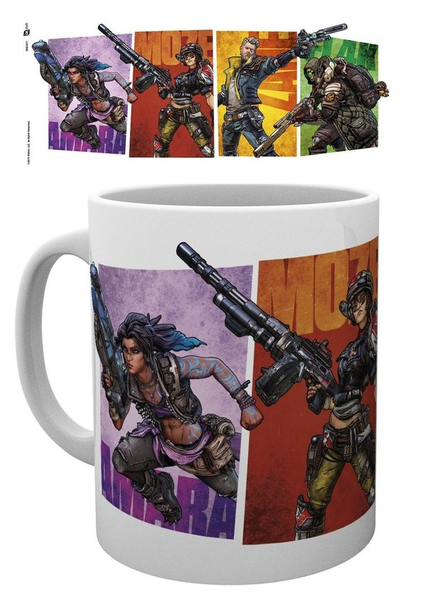 Tasse 320 ml BORDERLANDS 3 Vault Hunters