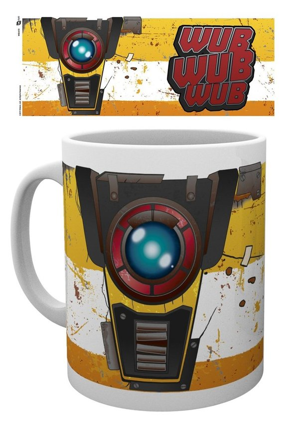 Tasse 320 ml BORDERLANDS 3 Claptrap
