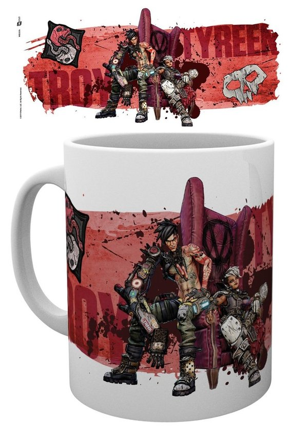 Tasse 320 ml BORDERLANDS 3 Troy and Tyreen