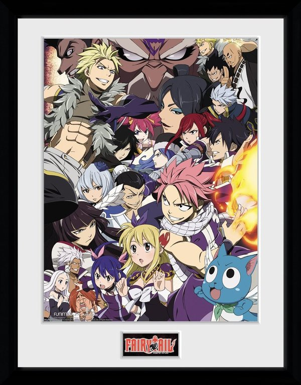 Bild Gerahmt / Print    FAIRY TAIL - Key Art