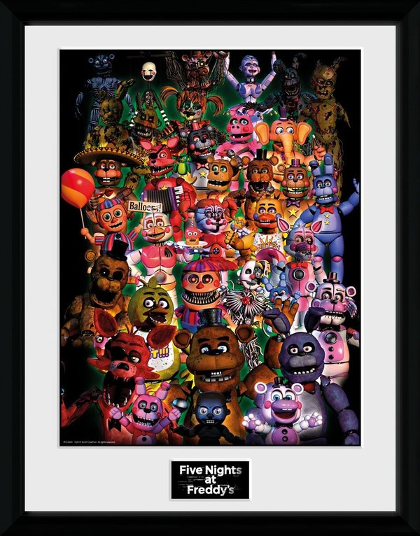 Bild Gerahmt / Print    FIVE NIGHTS AT FREDDY'S Ultimate Group