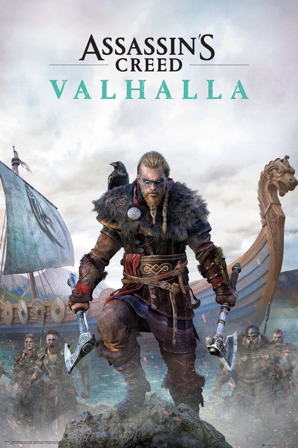 Poster Maxi ASSASSINS CREED VALHALLA Standard Edition