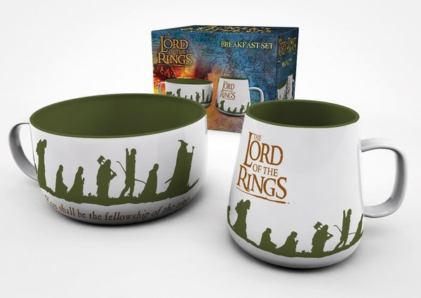 Frühstück - Set - The Lord of the Rings - Herr der Ringe - Fellowship